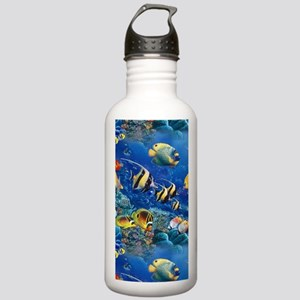 Tropical Fish Stainless Water Bottle 1.0L
